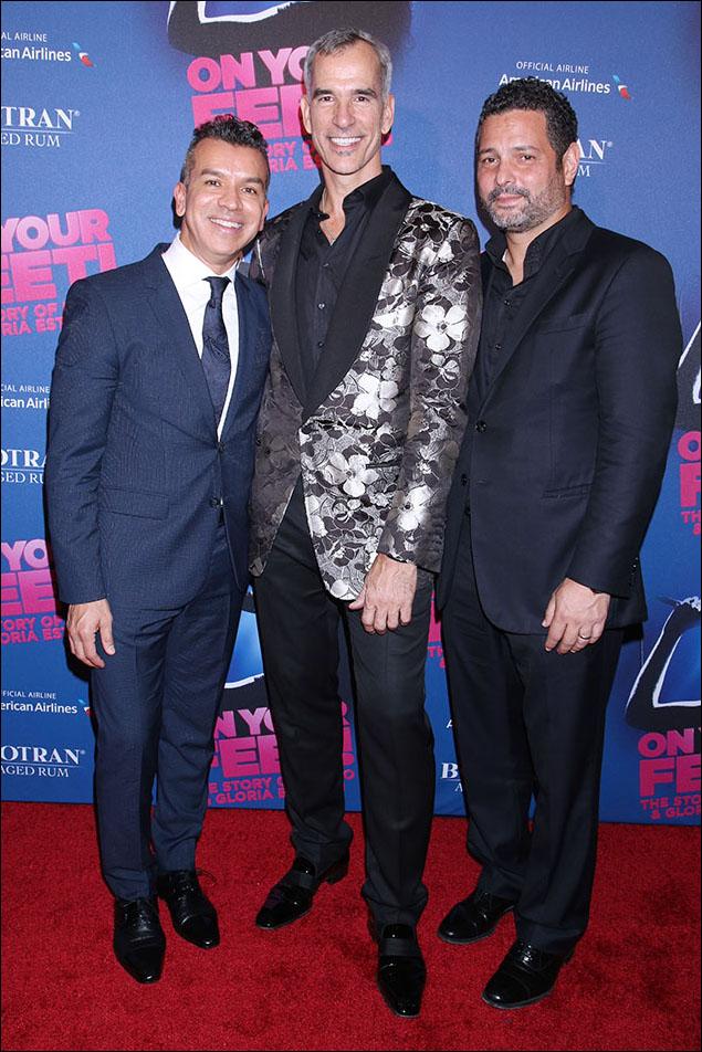 Sergio Trujillo, Jerry Mitchell, Alex Dinerlaris