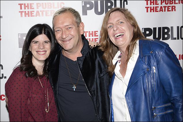 Mandy Hackett, Michael John LaChiusa and Kirsten Sanderson