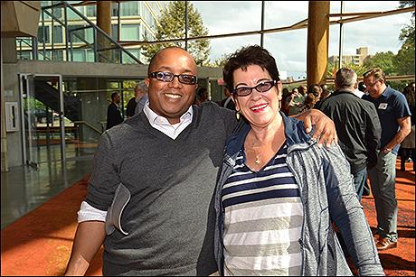 Director Robert O'Hara and Artistic Director Molly Smith