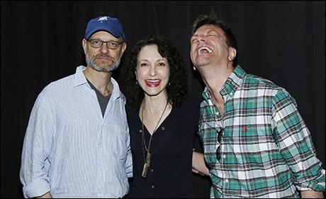 David Hyde Pierce, Bebe Neuwirth and Jim Caruso, 2014