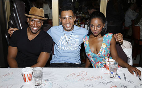 Bryan Terrell Clark, Charl Brown and Krystal Joy Brown, 2014