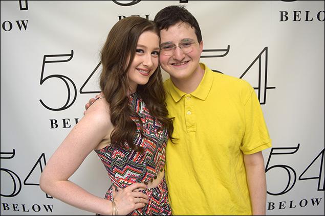 Marissa O'Donnell and Philip Romano