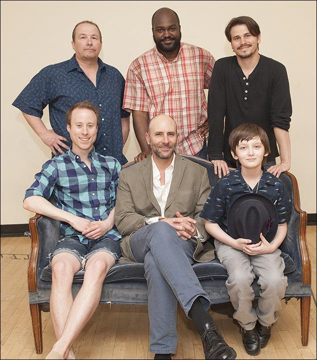 (Clockwise from top left) Jim Frangione, Dereks Thomas, Jason Ritter, Henry Kelemen, Jordan Lage, Nate Dendy