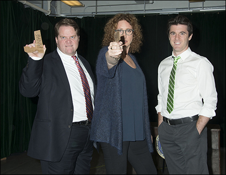 John Treacy Egan, Judy Gold and Kevin Zak