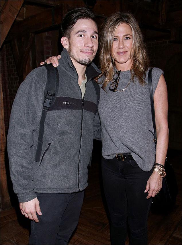 Jon Rua and Jennifer Aniston
