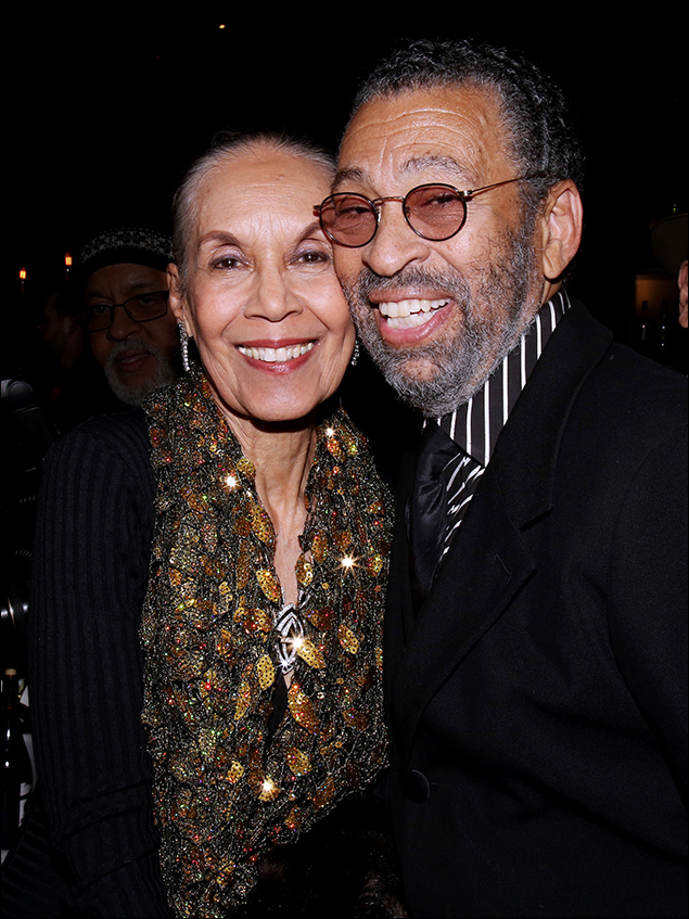 Carmen de Lavallade and Maurice Hines