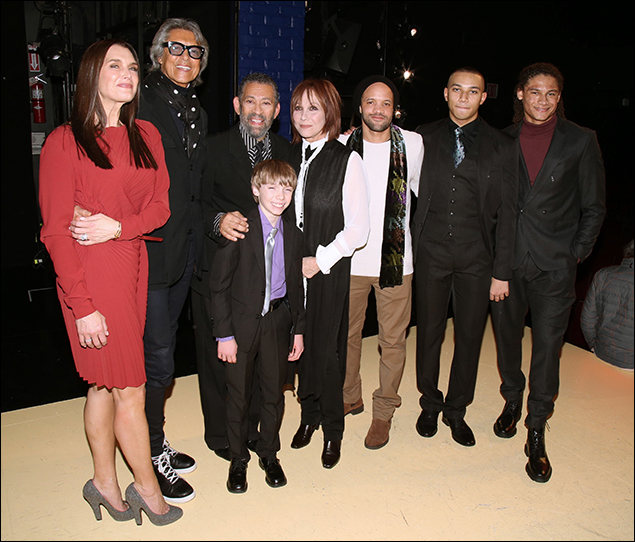 Brooke Shields, Tommy Tune, Maurice Hines, Luke Spring, Michele Lee, Savion Glover and the Manzari Brothers