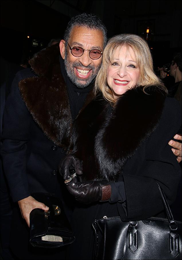 Maurice Hines and Julie Budd