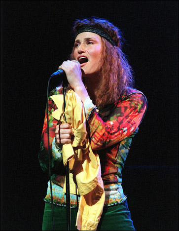 Idina Menzel in the Encores! production of Hair