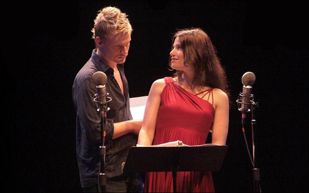 Jeffrey Carlson and Idina Menzel in Nero