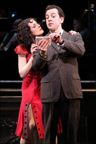 Rob McClure and Jennifer Bowles in Irma La Douce at Encores!