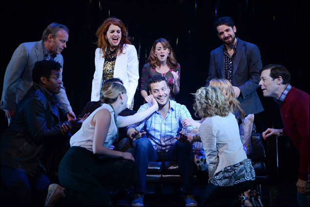Justin Guarini and cast