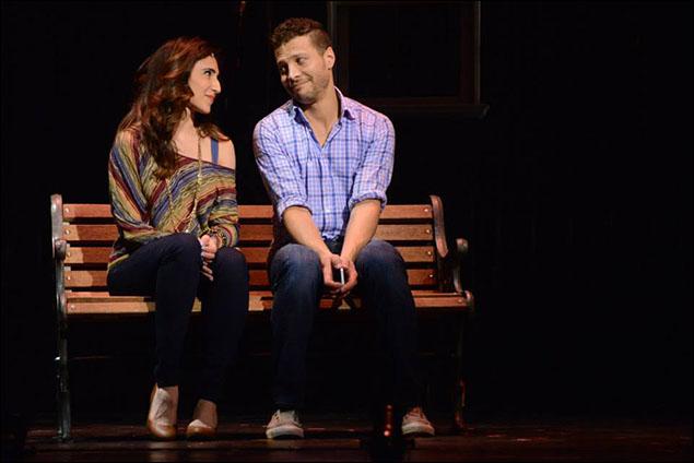 Gabrielle Ruiz and Justin Guarini