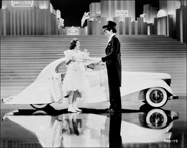 "Judy Garland and Buddy Ebsen in ""Broadway Melody of 1938"""