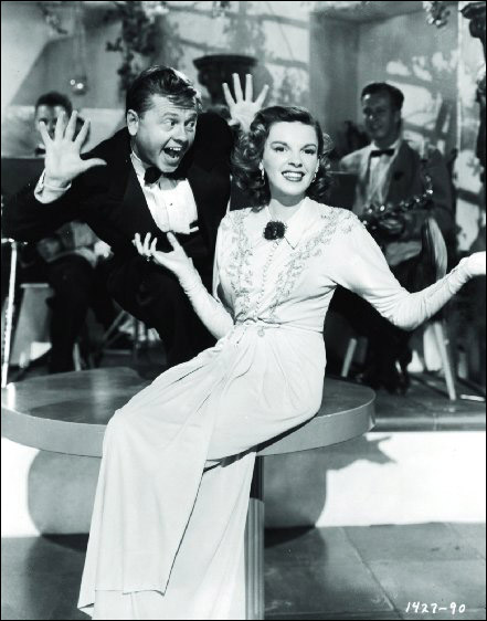"Judy Garland and Mickey Rooney in ""Words and Music"""
