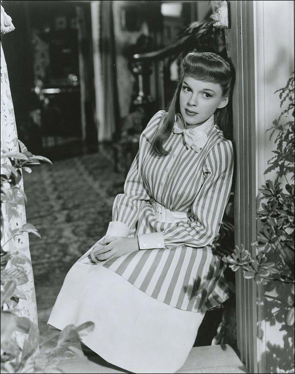 "Judy Garland in ""Meet Me in St. Louis"""