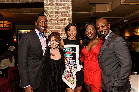 Carl Hendrick Louis, Deirdre O'Connell, Carra Patterson, Crystal Lucas-Perry and Maurice Jones