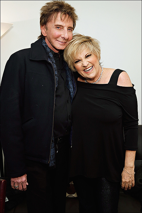 Barry Manilow and Lorna Luft