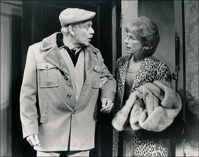 Jerry Stiller and Marcell Rosenblatt in What's Wrong With This Picture?