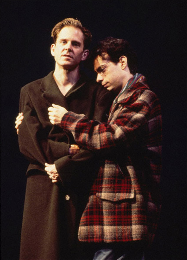 David Marshall Grant and Joe Mantello in Angels in America: Perestroika