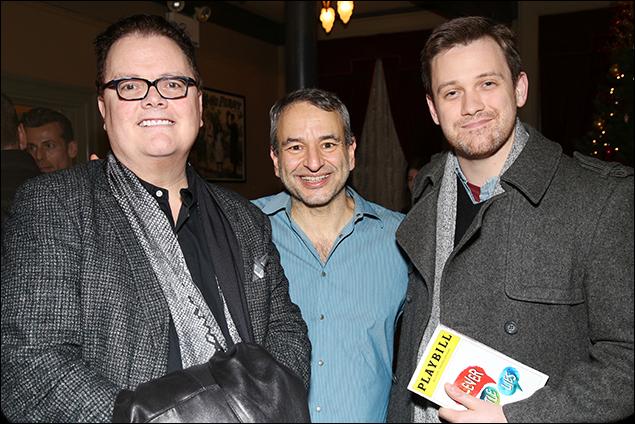 David Saint, Joe DiPietro and Michael Arden