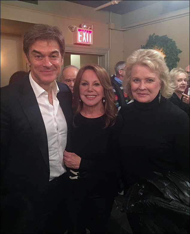 Dr. Oz, Marlo Thomas and Candice Bergen