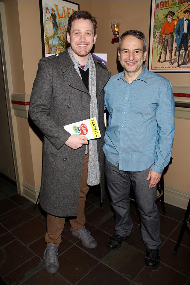 Michael Arden and Joe DiPietro