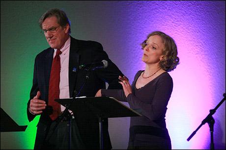 Nick Wyman and Nancy Anderson