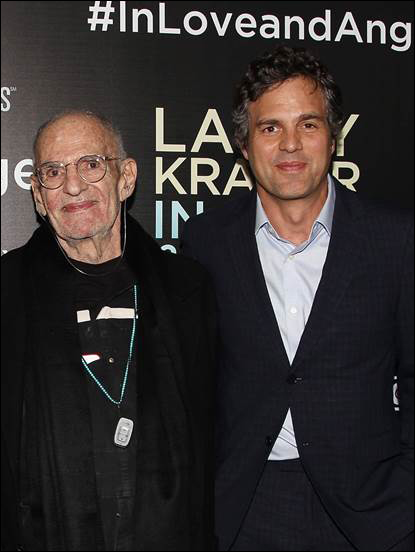 Larry Kramer, Mark Ruffalo
