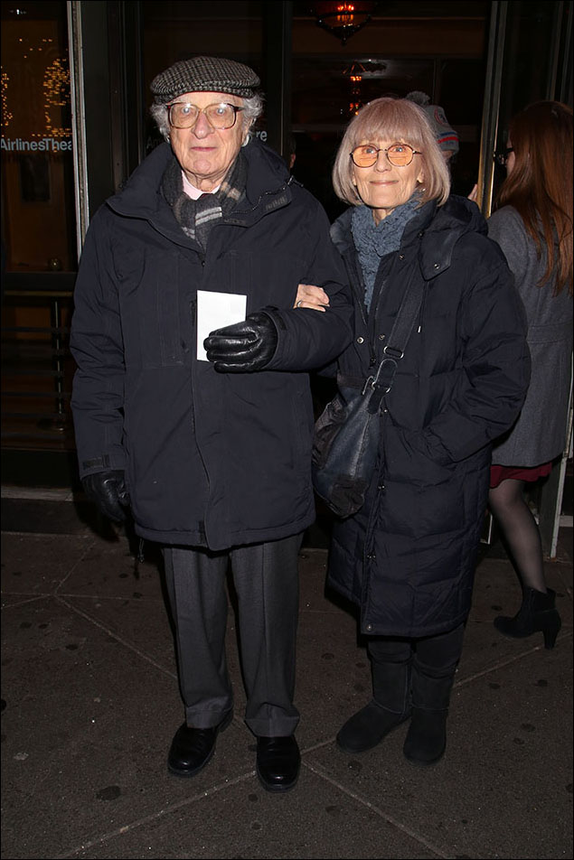 Sheldon Harnick and Margery Harnick