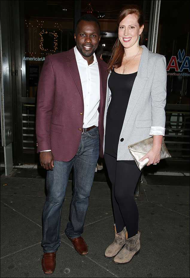Joshua Henry and Cathryn Stringer