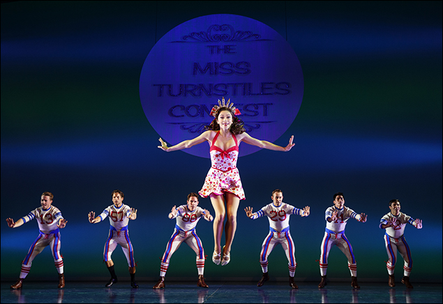 Megan Fairchild  in On The Town, nominated for Best Revival of a Musical