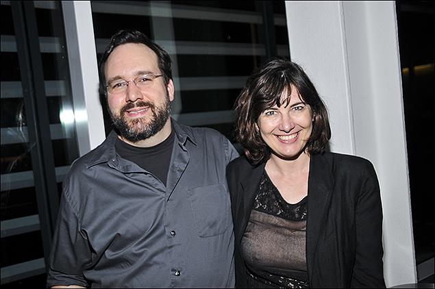 Matt Hubbs and Paloma Young