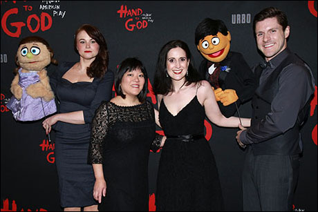 Kate Monster, Stacie Bono, Ann Harada, Stephanie D'Abruzzo, Princeton and Seth Rettberg