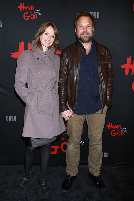 Michelle Federer and Norbert Leo Butz
