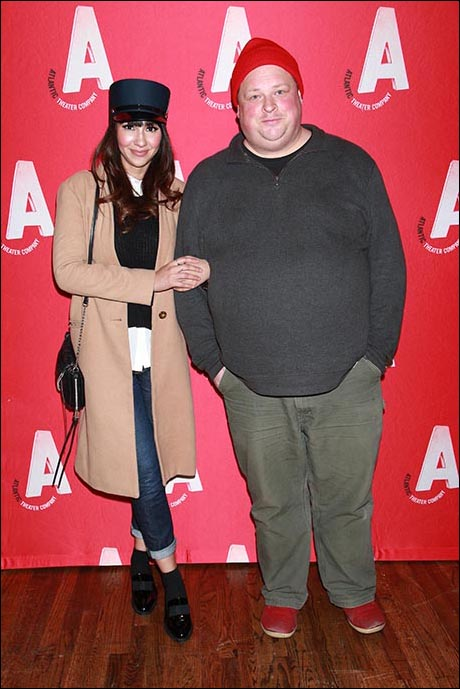 Jackie Cruz and Joel Marsh Garland