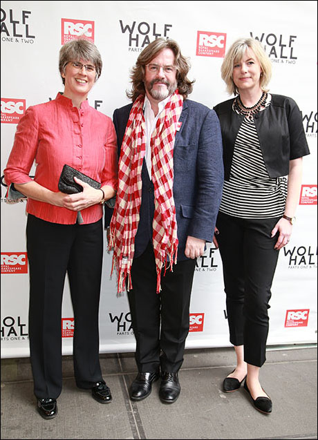 Catherine Mallyon and Gregory Doran