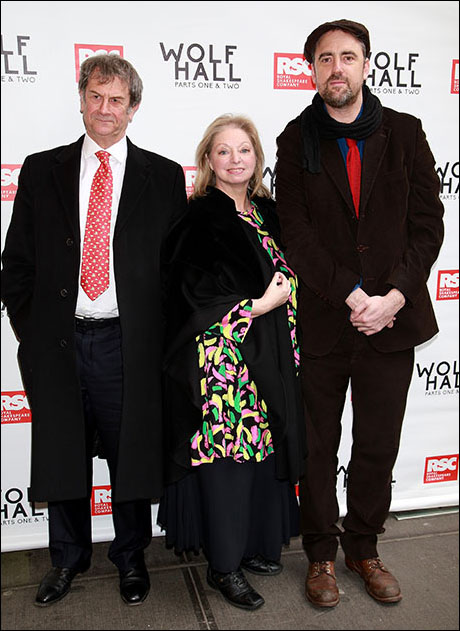 Mike Poulton, Dame Hilary Mantel and Jeremy Herrin