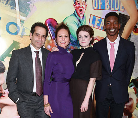 Tony Shalhoub, Diane Lane, Gayle Rankin and Mamoudou Athie