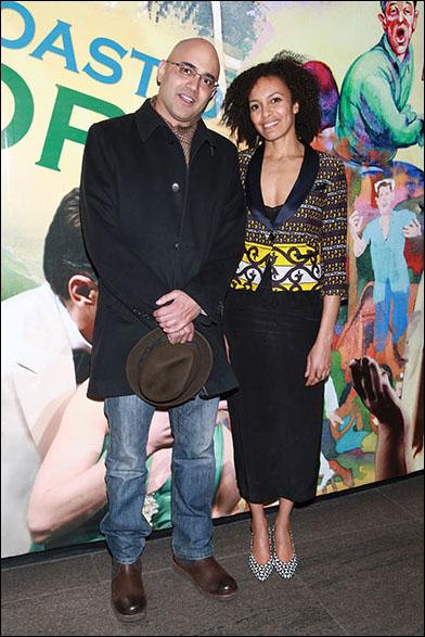 Ayad Akhtar and Eisa Davis