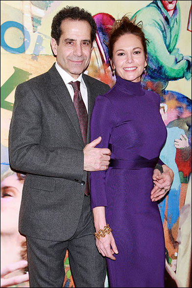 Tony Shalhoub and Diane Lane