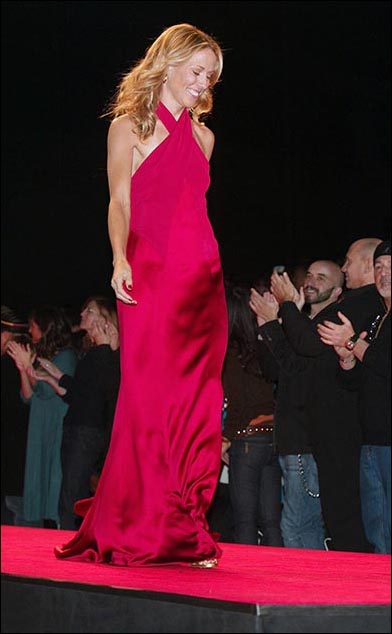 Sheryl Crow wearing Ralph Lauren