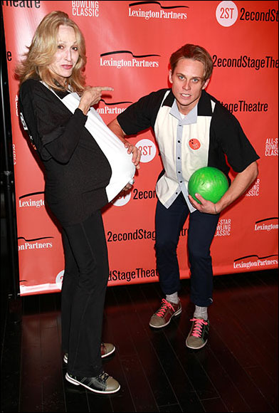Jan Maxwell and Billy Magnussen
