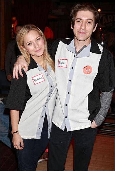 Vanessa Ray and Michael Zegen