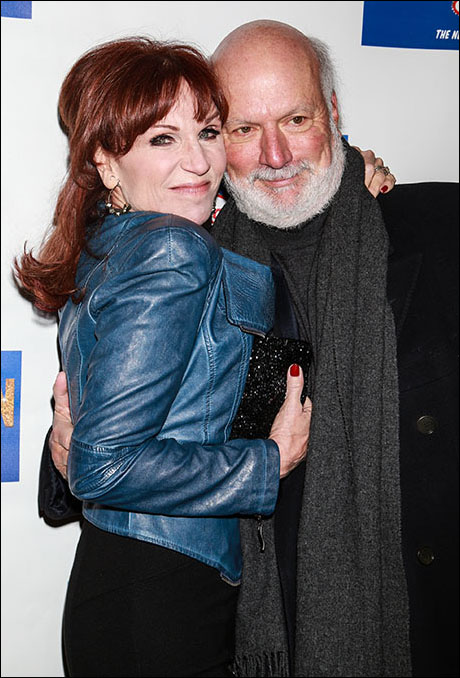 Marilu Henner and James Burrows