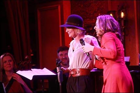 Martha Plimpton and Jessica Vosk