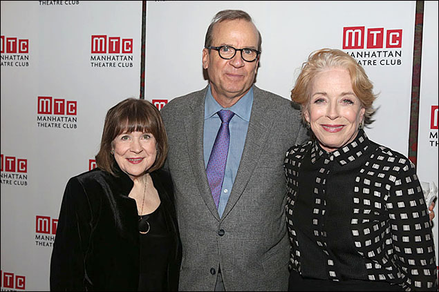 Marylouise Burke, Barry Grove and Holland Taylor