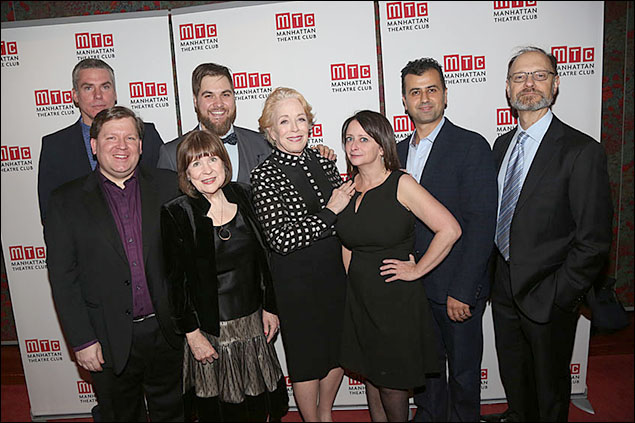 Glenn Fitzgerald, David Lindsay-Abaire, Marylouise Burke, Nate Miller, Holland Taylor, Rachel Dratch, Daoud Heidami and David Hyde Pierce