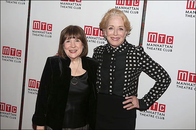 Marylouise Burke and Holland Taylor