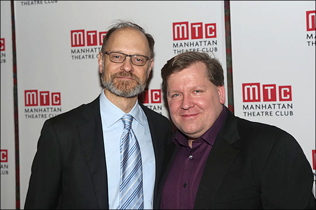 David Hyde Pierce and David Lindsay-Abaire